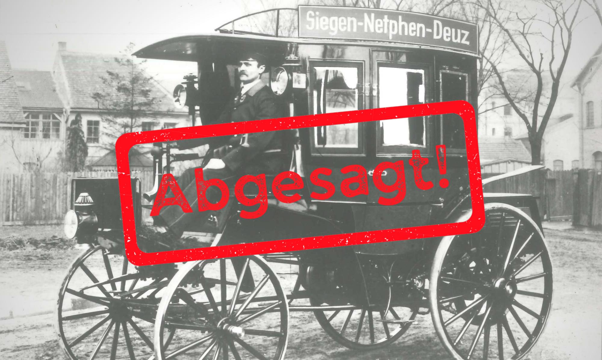 Jubiläum 125 +1 Jahre Motor-Omnibus kann nicht stattfinden